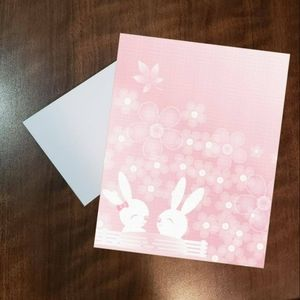 🌷24 pc spring bunny stationery🌷
